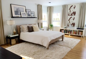 17 Smart and Functional Design Ideas and Solutions for Small Master Bedroom - small bedroom, small, Master Bedroom, bedroom solution, bedroom design ideas