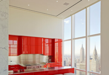 19 Stunning Red Kitchen Design and Decor Ideas - red kitchen design ideas, red kitchen, red interior, red, kitchen design, kitchen decor