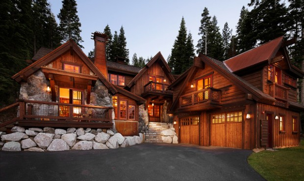 48 Rustic Mountain House Exterior Design Ideas Style Motivation Inspiration Exterior Design Ideas