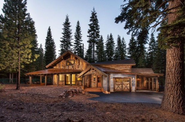17 Rustic Mountain House Exterior Design Ideas Style