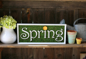 DIY Spring- 16 Amazing Ideas to bring Fresh Look to Your Home - spring decor, diy spring home decor, diy spring, diy home decor, diy decor