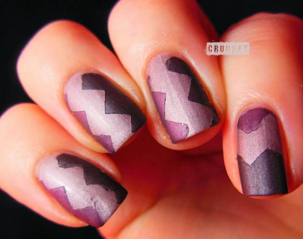 17 Gorgeous Nail Art Ideas Created with Scotch Tape