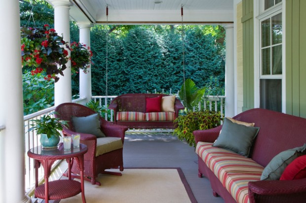 20 Inspiring Ideas How To Decorate Your Porch This Spring