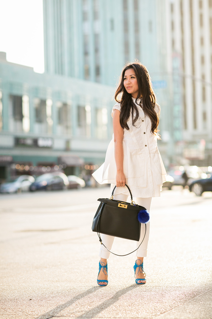 17 Chic Outfit Ideas With White Jeans