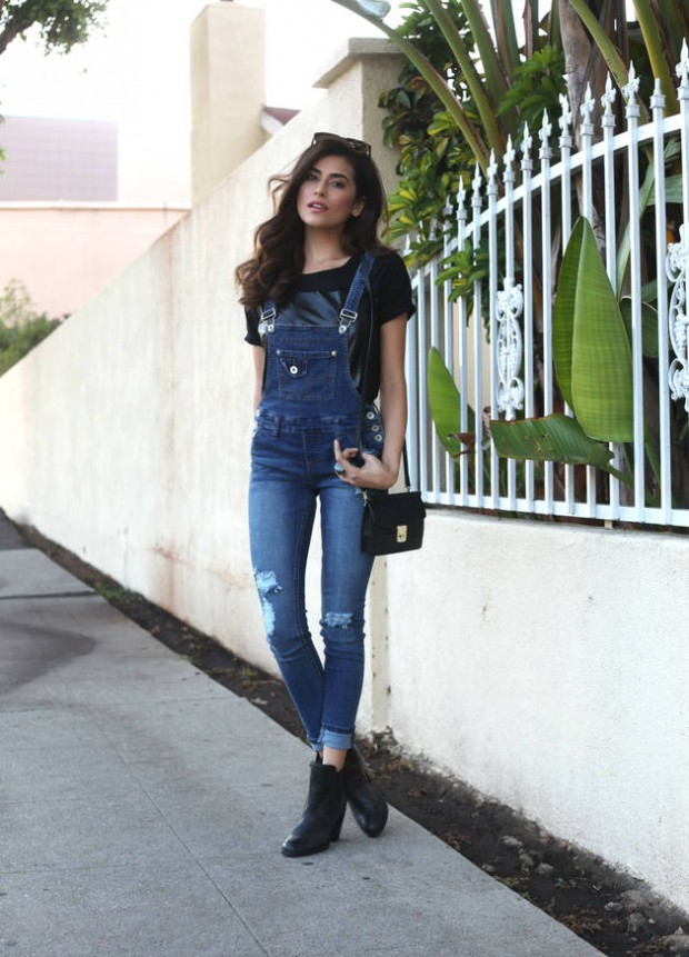 How To Rock The Hottest Trend for This Spring   20 Overalls Outfits