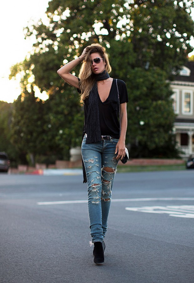 16 Stylish Jeans Outfit Ideas for The Spring Season