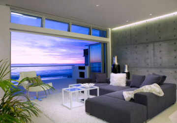22 Breathtaking Oceanfront Living Rooms - oceanfront, ocean view, ocean, living rooms, Living room, home design, home decor, breathtaking