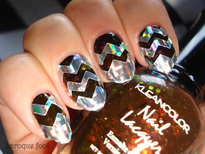 Chevrons-Nail-Designs-in-18-Beautiful-and-Elegant-Ideas-1