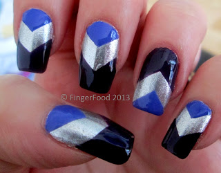 Chevrons-Nail-Designs-in-18-Beautiful-and-Elegant-Ideas-10