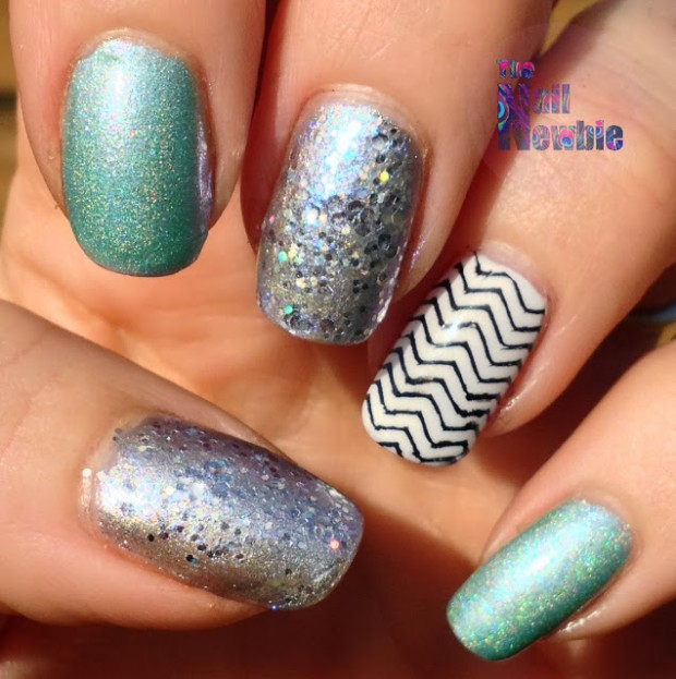 Chevrons-Nail-Designs-in-18-Beautiful-and-Elegant-Ideas-12