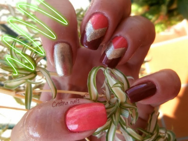 Chevrons-Nail-Designs-in-18-Beautiful-and-Elegant-Ideas-15