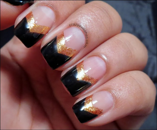 Chevrons-Nail-Designs-in-18-Beautiful-and-Elegant-Ideas-3