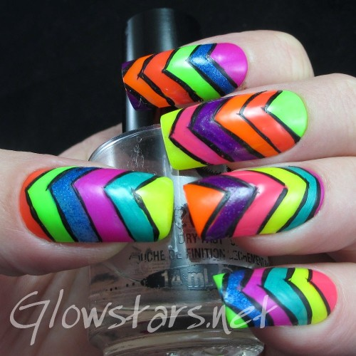 Chevrons-Nail-Designs-in-18-Beautiful-and-Elegant-Ideas-4