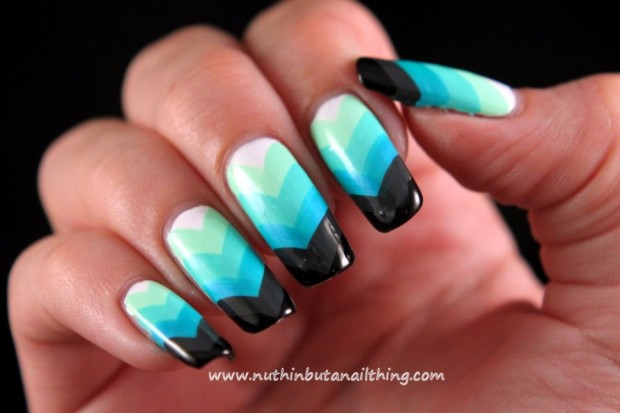 Chevrons-Nail-Designs-in-18-Beautiful-and-Elegant-Ideas-6-890x593