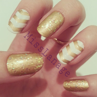 Chevrons-Nail-Designs-in-18-Beautiful-and-Elegant-Ideas-7