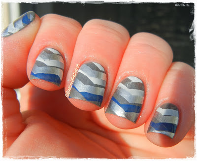 Chevrons-Nail-Designs-in-18-Beautiful-and-Elegant-Ideas-9