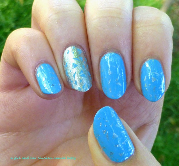 Silver Accent on Your Nails  17 Gorgeous Nail Art Ideas