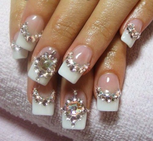 Romantic Wedding Nail Designs – 18 Elegant Nail Art Ideas for ...