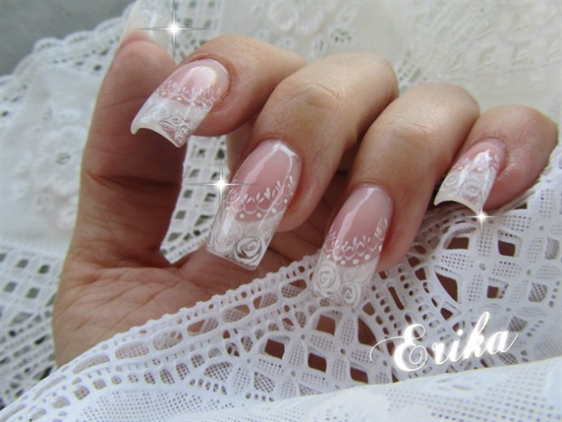 Romantic Wedding Nail Designs – 18 Elegant Nail Art Ideas for Brides