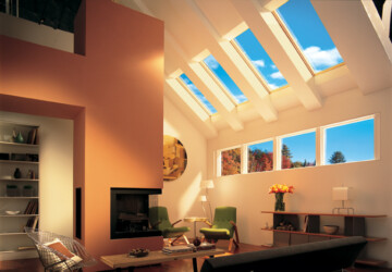How to Make your House More Airy - skylight, natural light, Make your House, house, declutter