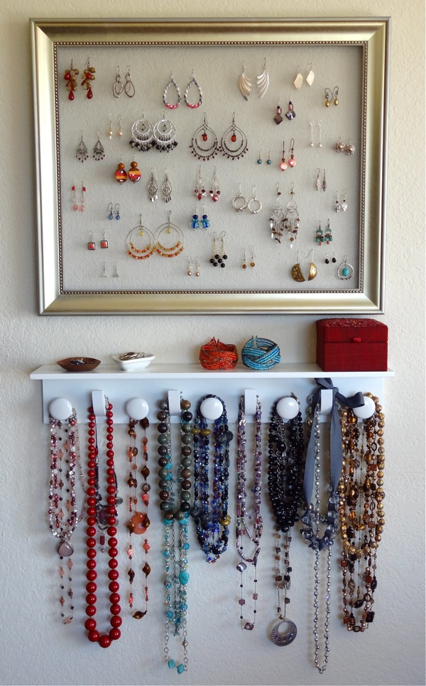 17 Creative  DIY Solutions for How To Organize Your Jewelry