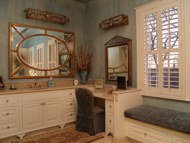 20 Gorgeous Makeup Vanity Table Design Ideas