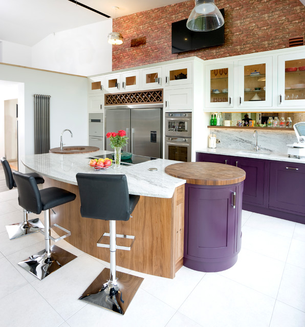 15 Modern Purple Kitchen Design Ideas  Style Motivation
