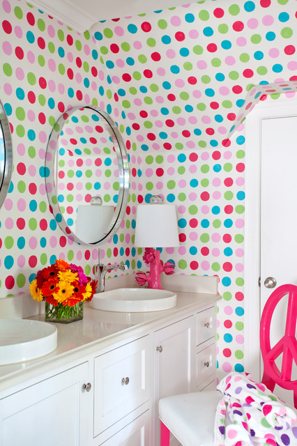 25 Cute Polka Dot Wall Decor Ideas