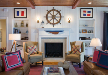 Create Your Own Paradise: 18 Nautical Living Room Ideas - Nautical Interior Design Ideas, Nautical Interior, nautical, living rooms, Living room, home decoration, Home Decorating, home decor, home