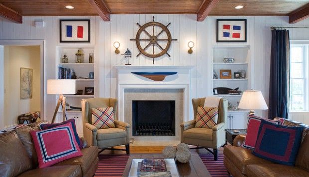 Etonnant Create Your Own Paradise: 18 Nautical Living Room Ideas