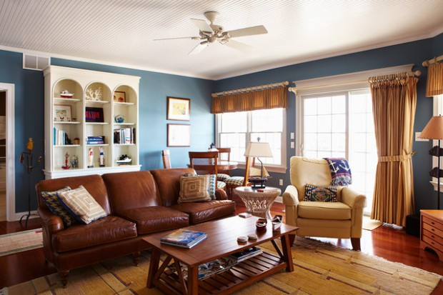 Create Your Own Paradise: 18 Nautical Living Room Ideas
