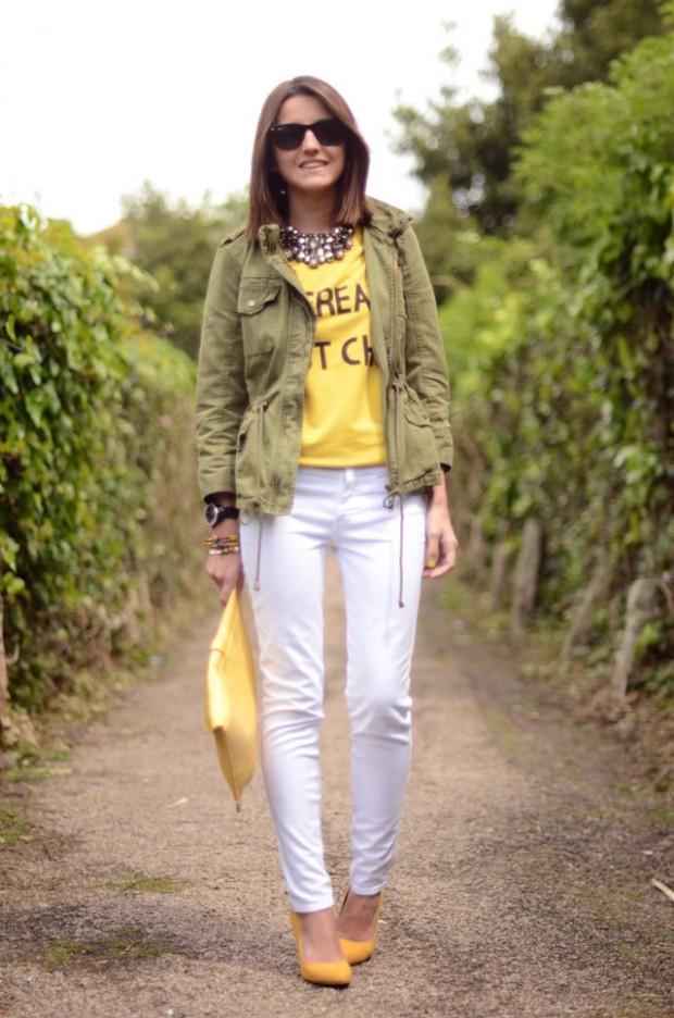 How to Combine Yellow Pumps for Perfect Summer Outfit