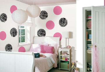 25 Cute Polka-Dot Wall Decor Ideas - wall decor, wall, polka dots wall decor, polka dots home decor, polka dots, polka dot, home decor