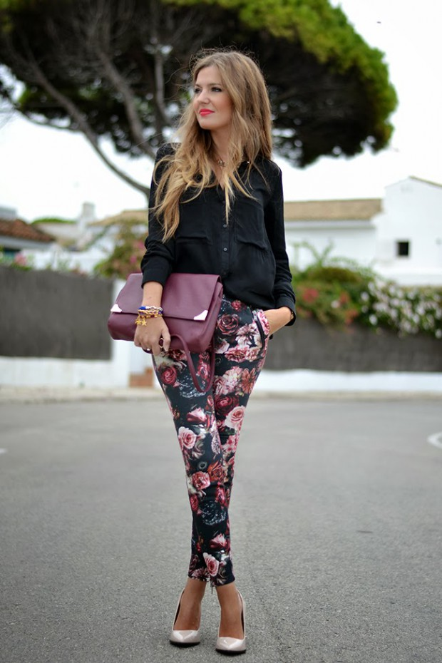Style Tips on How to Wear Patterned Pants + 19 Outfit Ideas