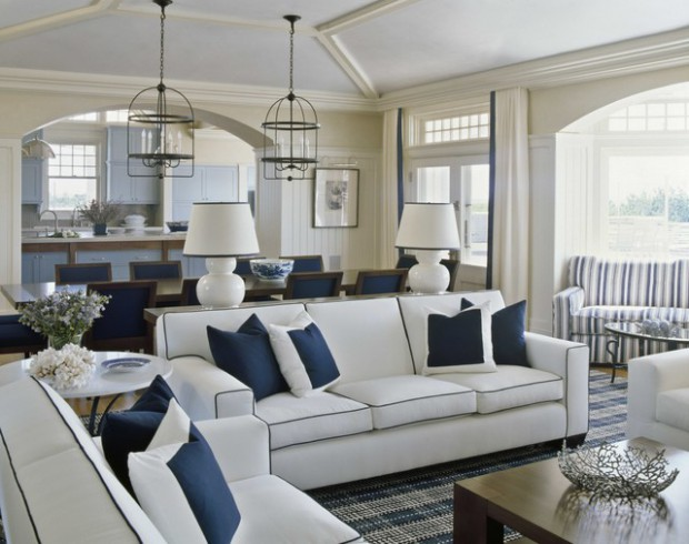 Create Your Own Paradise 18 Nautical Living Room Ideas