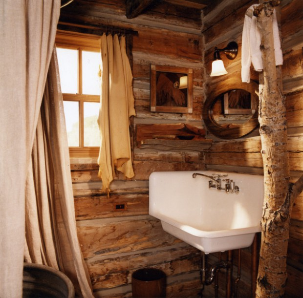 18 Ideas For Perfect Rustic Bathroom Design