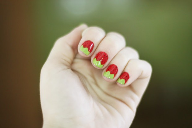 Cute-Fruit-Nails-for-Spring-and-Summer-18-Adorable-Nail-Art-Ideas-11