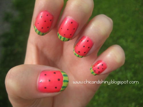 Cute-Fruit-Nails-for-Spring-and-Summer-18-Adorable-Nail-Art-Ideas-16
