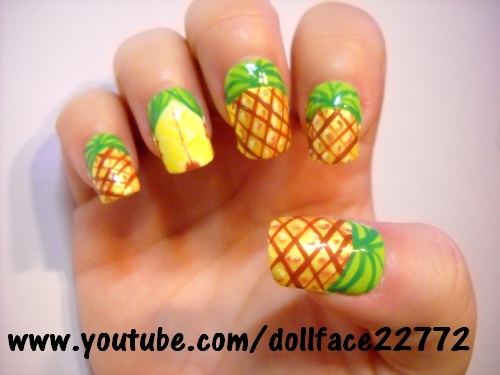 Cute-Fruit-Nails-for-Spring-and-Summer-18-Adorable-Nail-Art-Ideas-6