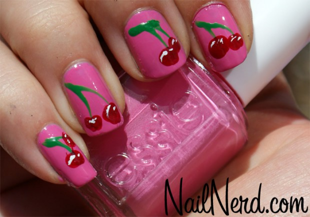 Cute-Fruit-Nails-for-Spring-and-Summer-18-Adorable-Nail-Art-Ideas-7
