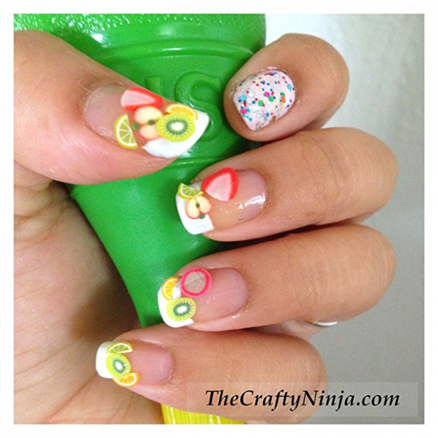 Cute-Fruit-Nails-for-Spring-and-Summer-18-Adorable-Nail-Art-Ideas-8
