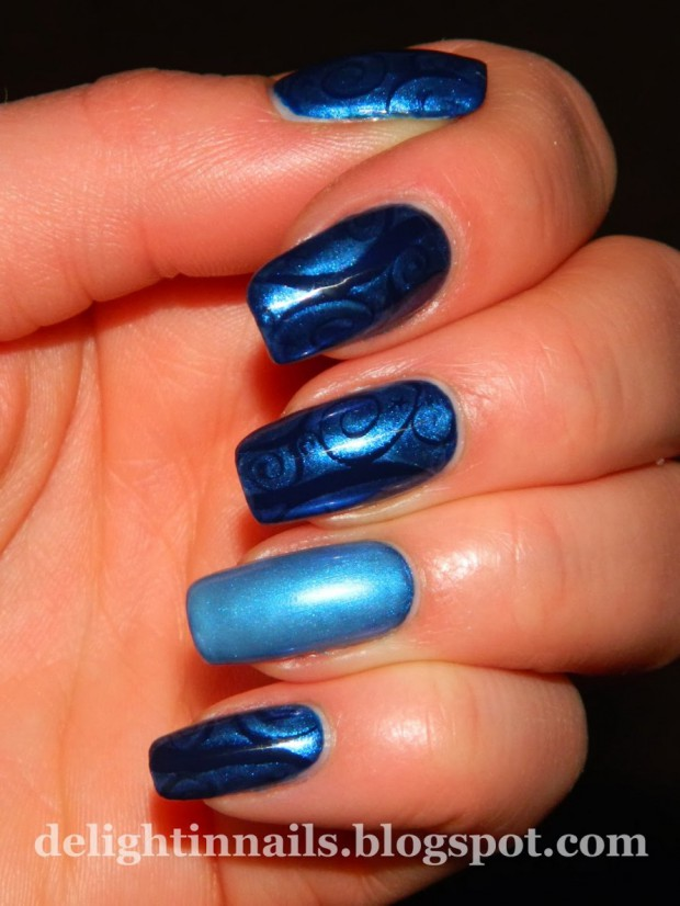Nail Art Ideas In Every Shade of Blue – 20 Gorgeous Nail Designs ...