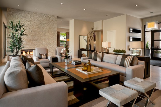 18 Remarkable Living Room Design Ideas in Contemporary Style