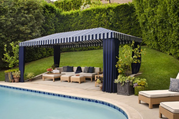 Pool Area- 20 Outstanding Gazebo Design Ideas for Relaxing in ...