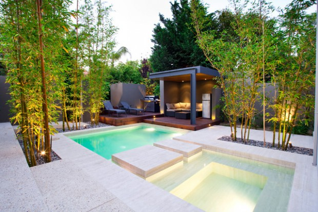 Pool area 20 outstanding gazebo design ideas for relaxing for Landscape design for pool areas