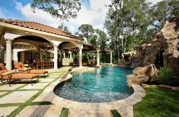 Landscaping Backyard Oasis 18 Pool Design Ideas In