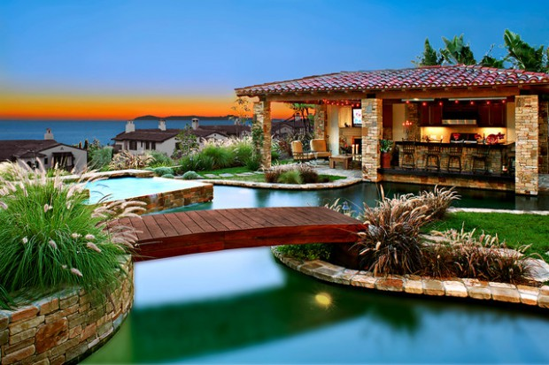 Landscaping backyard oasis 18 pool design ideas in for Landscape design for pool areas