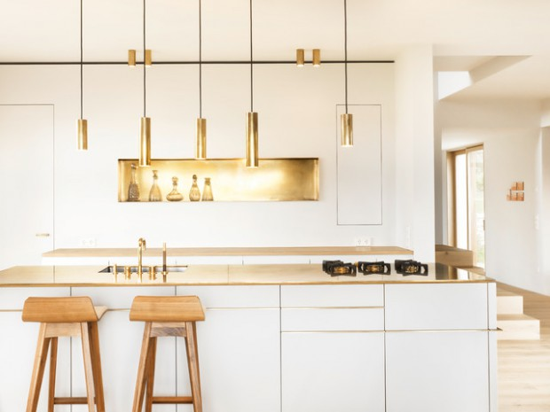 18 Bright and Simple Kitchen Design Ideas in Minimalist Style