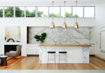 18 Bright and Simple Kitchen Design Ideas in Minimalist Style - minimalist kitchen, minimalist interior design, minimalisam, kitchen design