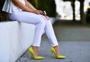 How to Combine Yellow Pumps for Perfect Summer Outfit - yellow pumps, yellow, Stylish, style, pumps, Outfit ideas, outfit idea, outfit, fashion